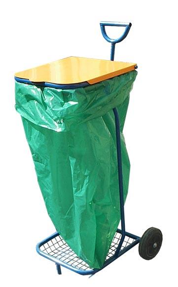 Как сделать тележку для мусора